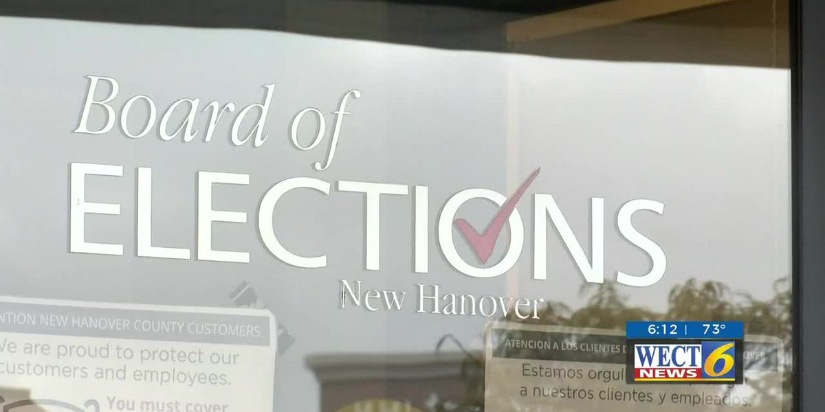 A sticky issue has been found with some absentee ballots