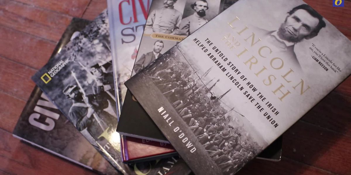 Woman loses her 200 Civil War book collection to floodwaters, community steps in to help her rebuild