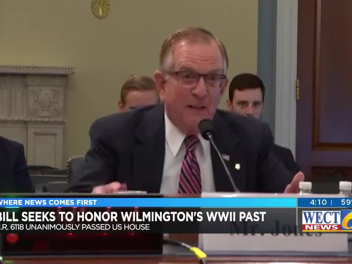 "Historian's decade-long work to get Wilmington recognized as ""American World War II City"" nears completion"