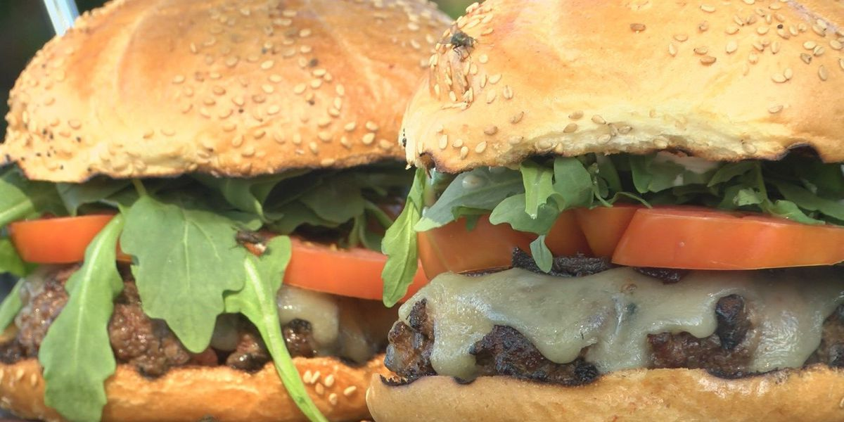 Sustainable burger combines beef and 'shrooms