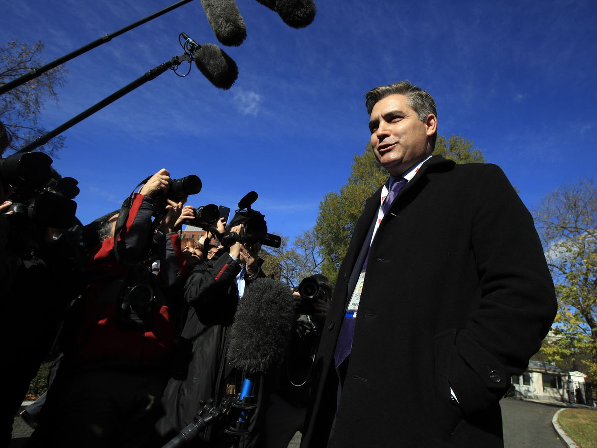 The Latest: White House writing up rules for reporters