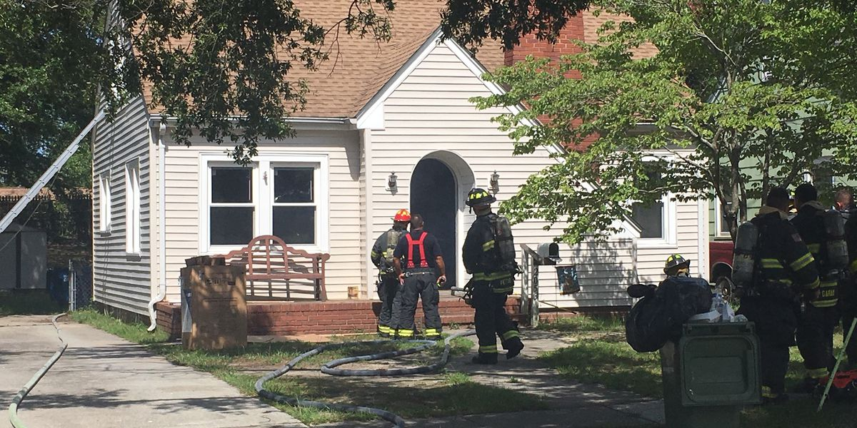 Fire damages Wilmington home