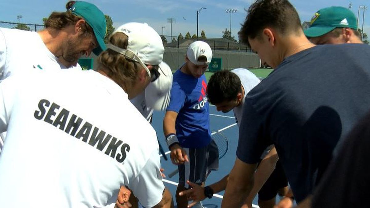 UNCW Men's Tennis team wins CAA championship