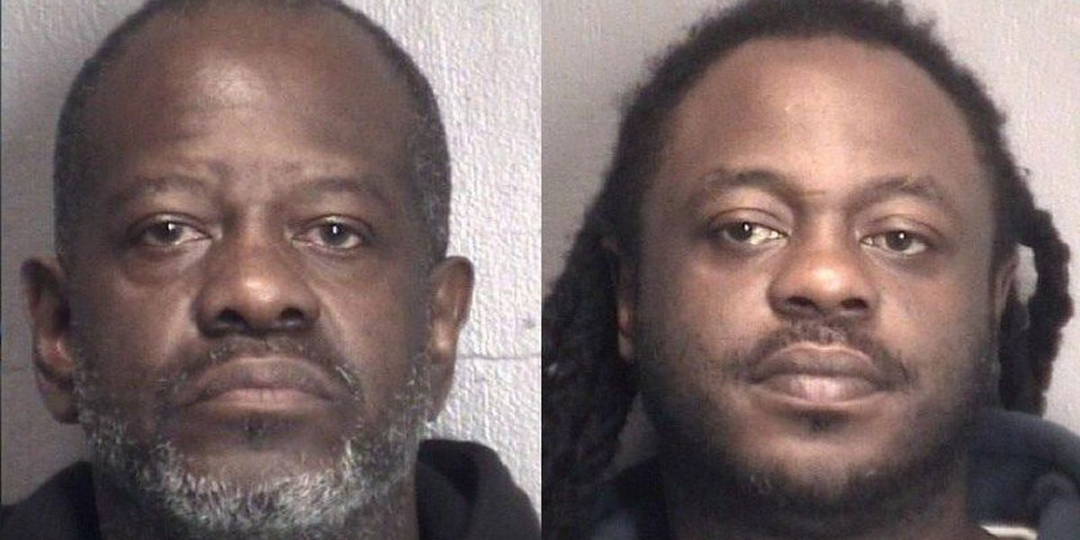 Two men arrested after early morning narcotics operation