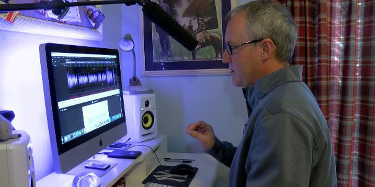 The Side Hustle: Wilmington man's voice can be heard around the world