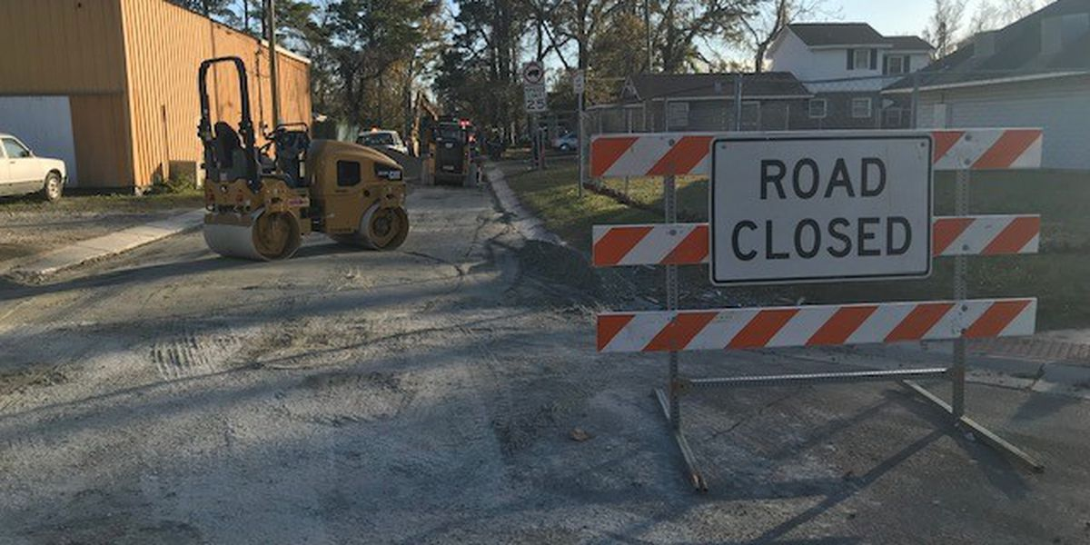 Crews fix ruptured gas line that closed Princess Place Dr. in Wilmington