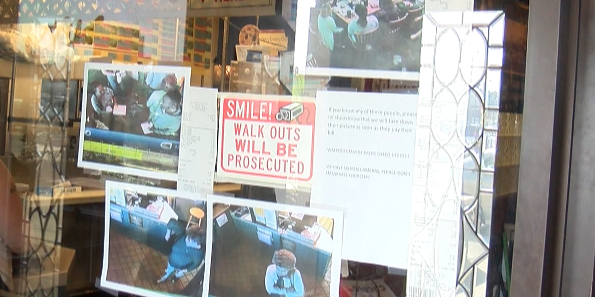 Deli battles increasing number of dine-and-dashers with wall of shame, police reports