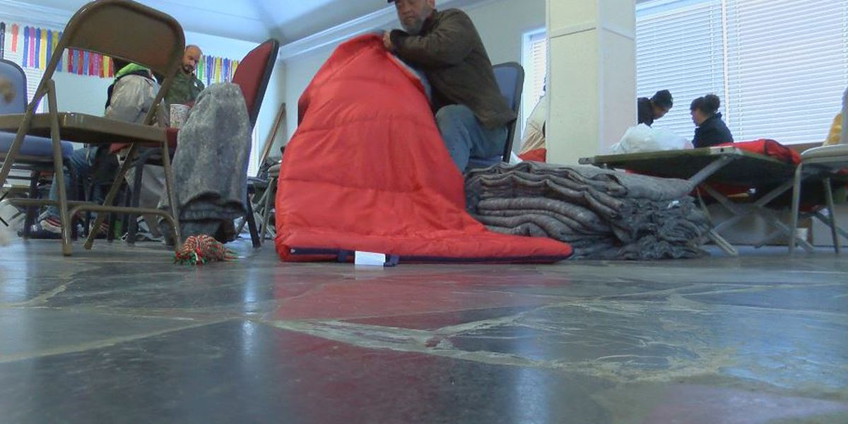 Nonprofits team up to open warming station as bone-chilling temps descend on Wilmington