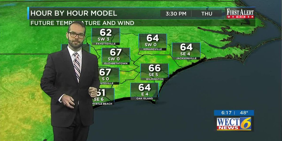 Your First Alert Forecast from Thu. Morning, Mar. 26, 2020