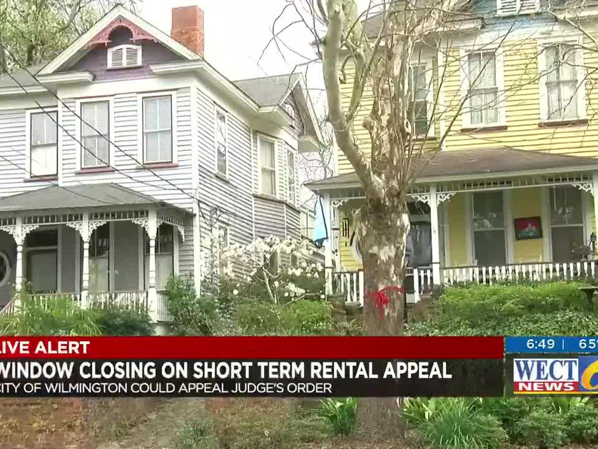 Wilmington has 3 weeks left to appeal court decision nullifying short-term rental restrictions