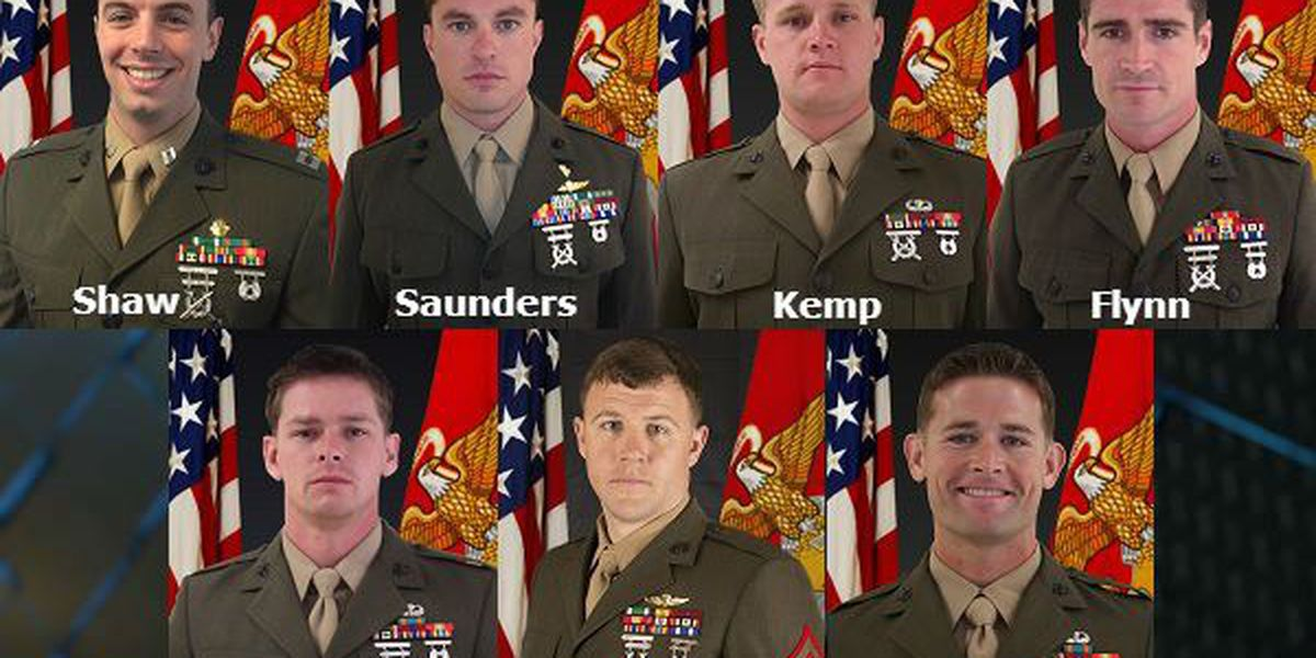 Bios of the Marines who died in the Florida helicopter crash