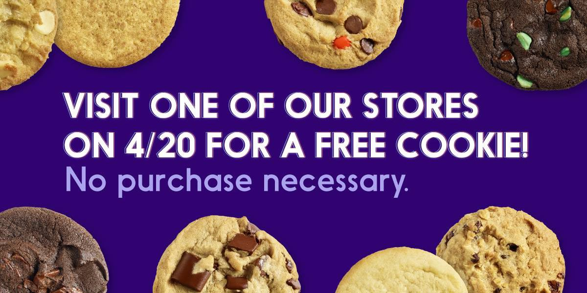 Insomnia giving away free cookies Saturday