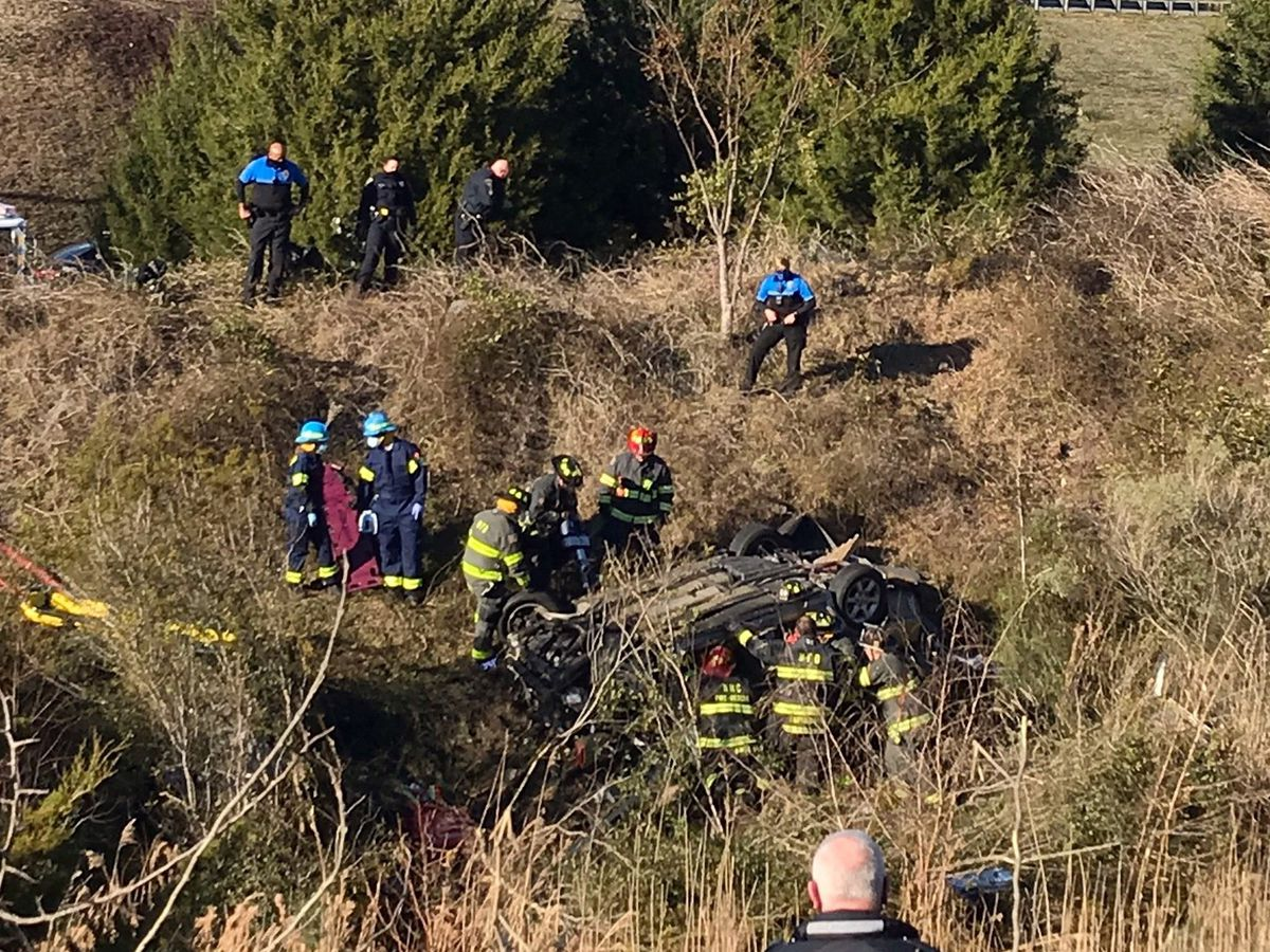 Driver killed after car plunges off Wilmington roadway near Isabel Holmes Bridge