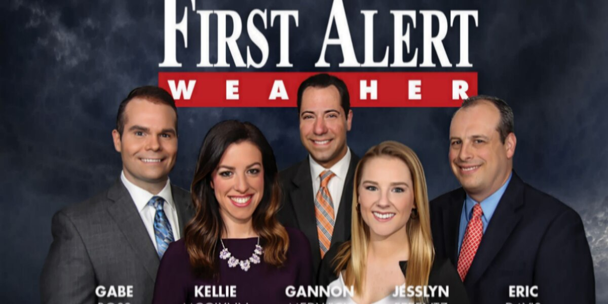 First Alert Forecast: chilly and mainly dry pattern for January's final week