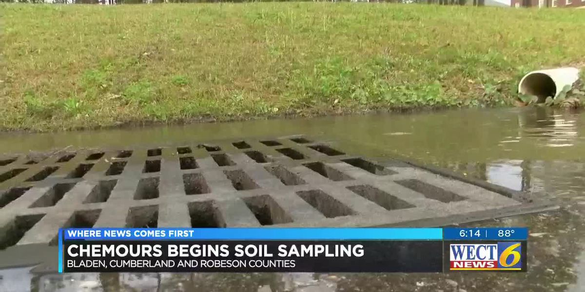Chemours to fund soil sampling in several counties