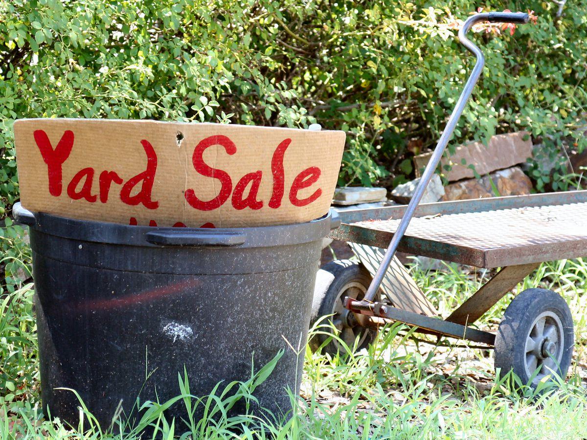 Yard sales May 25