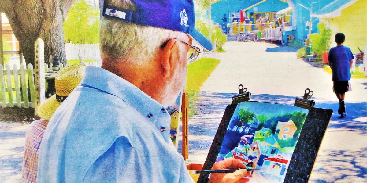 Find inspiration aplenty for outdoor painting at Southport's Plein Air Festival