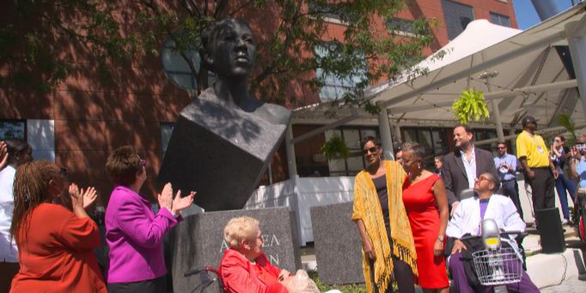 Statue for Althea Gibson unveiled at U.S. Open