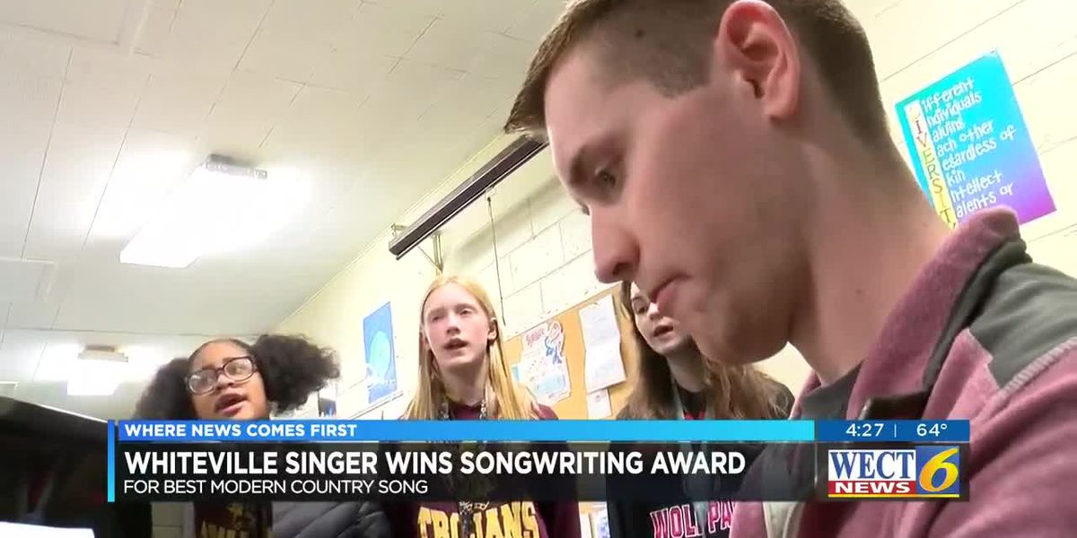 Singer and middle school music instructor wins award for Best Modern Country Song