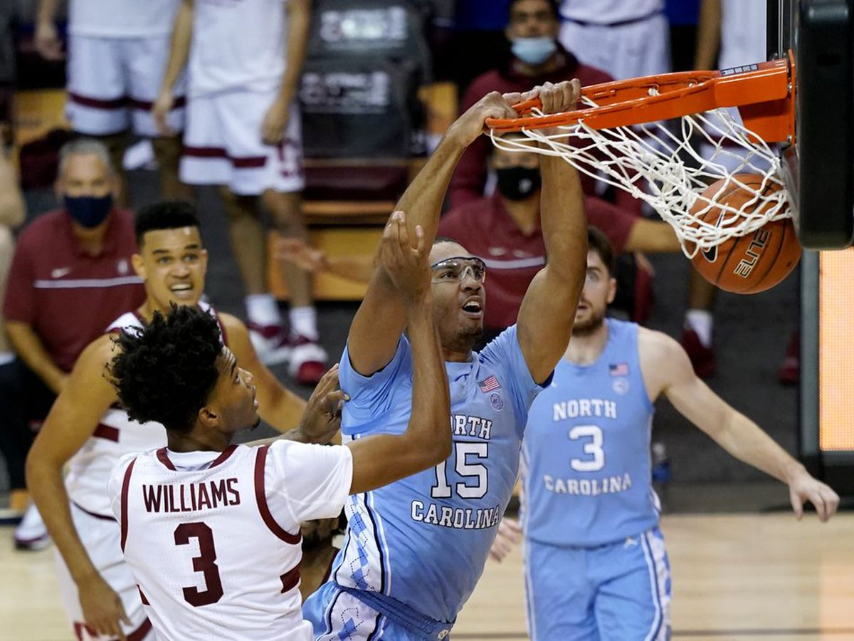 Black helps No. 14 UNC top Stanford 67-63 in Maui semifinals