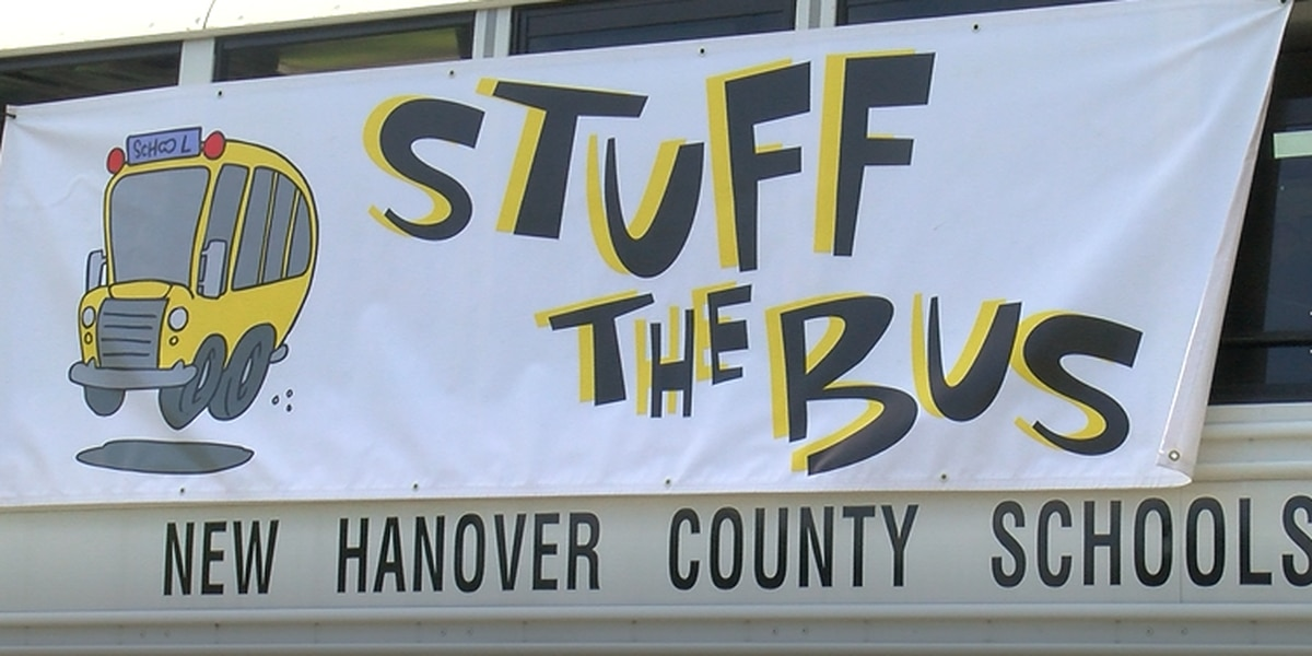 Stuff the Bus 2020: Community members pack a bus full of school supplies despite remote learning starts