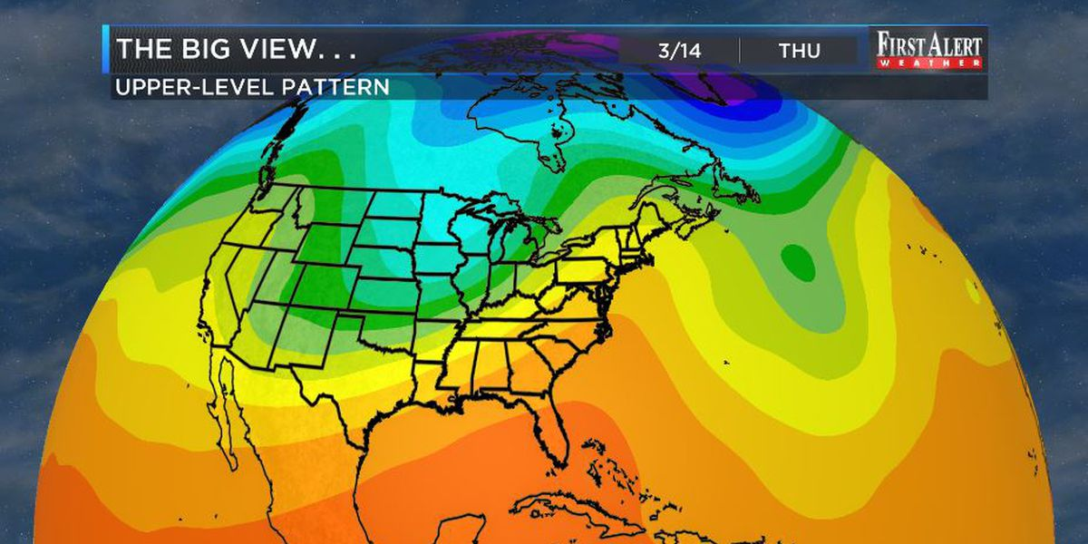 First Alert Forecast: temperatures to climb, and then chill...