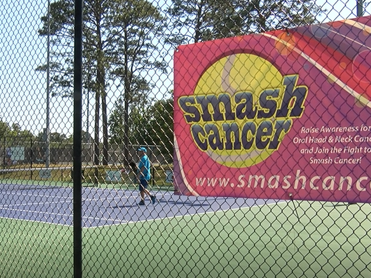Community comes together to smash cancer in local tennis tournament