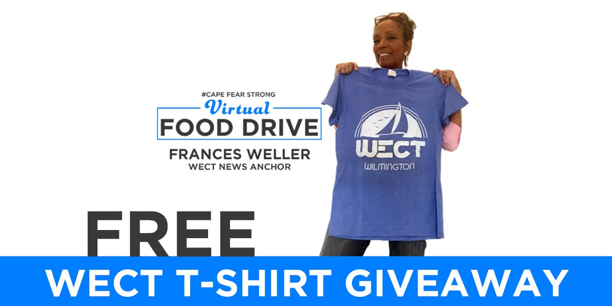 WECT T-Shirt Giveaway 5/5/2020
