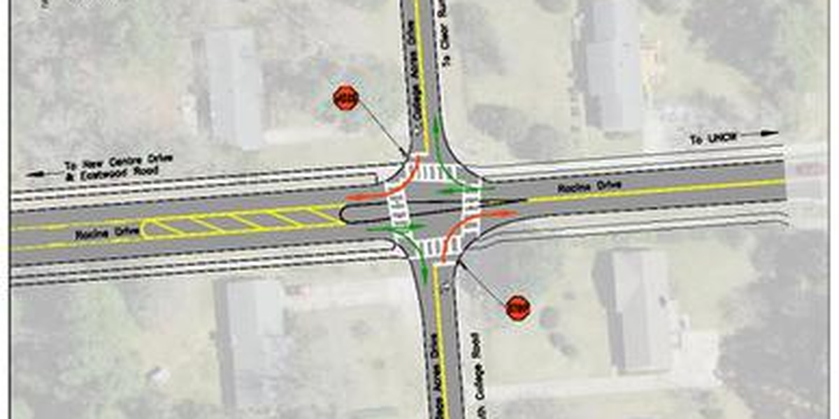Intersection changes coming to Racine, College Acres
