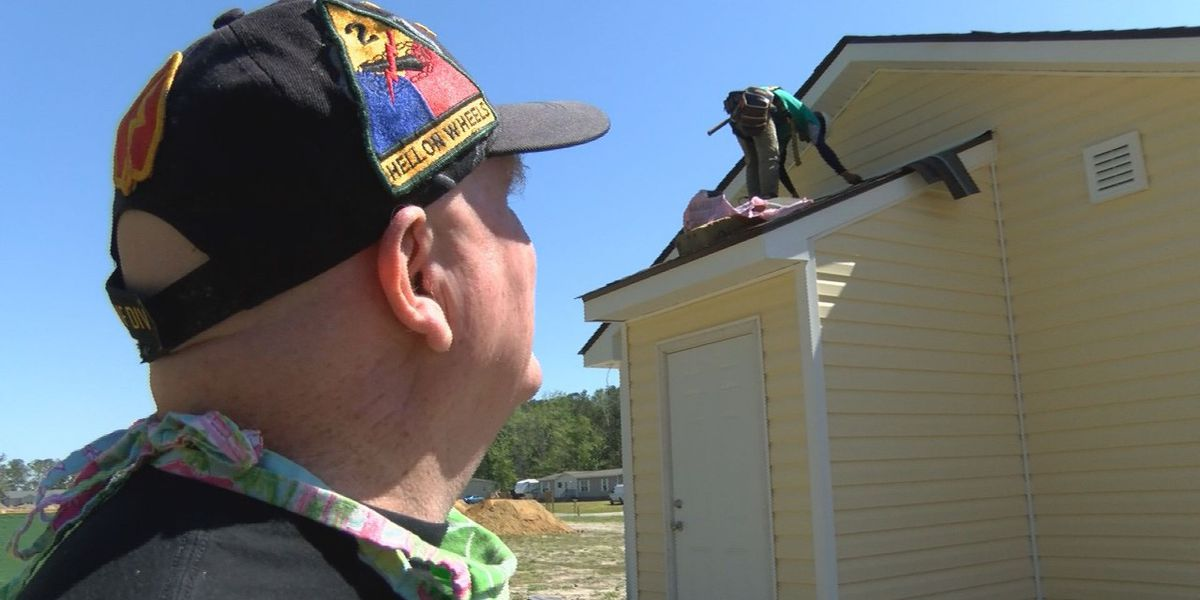 Community expresses gratitude with a new home for a veteran