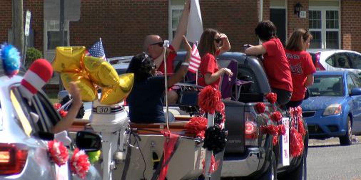 WPD, NHCS organize parade for Rachel Freeman School of Engineering students