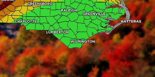 Warm temps delaying appearance of fall colors