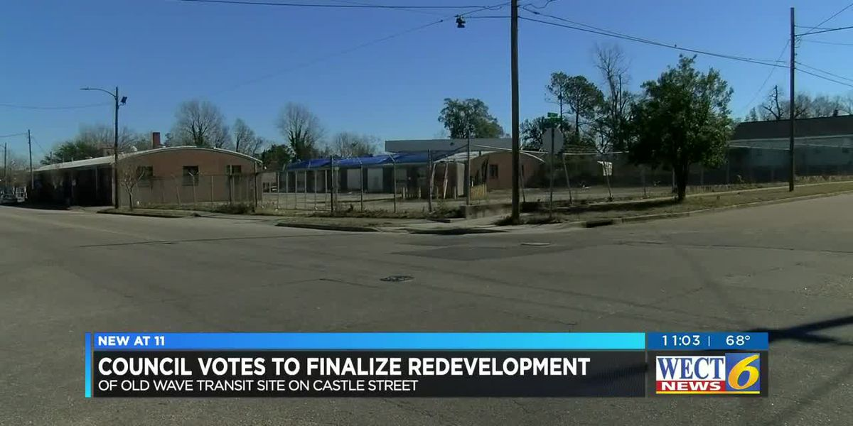 City Council decided to finalize plans to redevelop former Wave Transit site