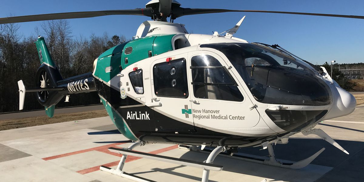 NHRMC stations Airlink helicopter at Novant Health