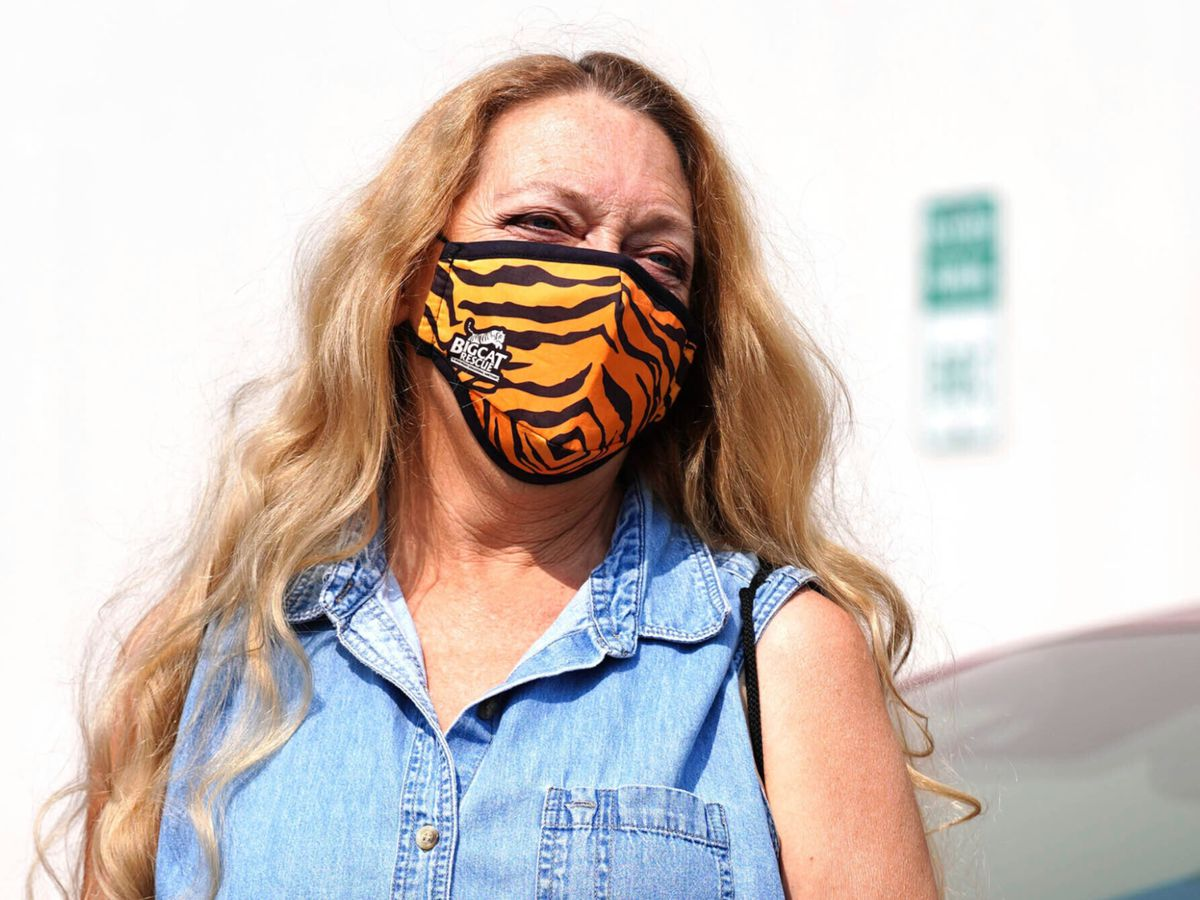 Shizzy's Wild-Cat Rescue gains support of 'Tiger King' star Carole Baskin