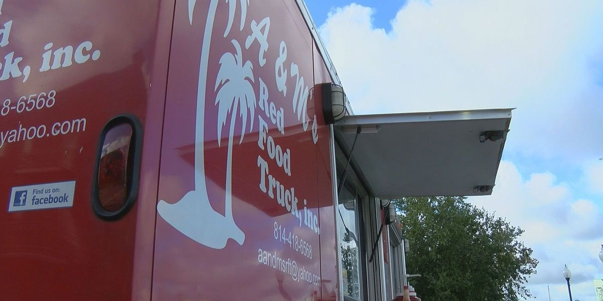 Food truck serves meals to homeless in downtown Wilmington