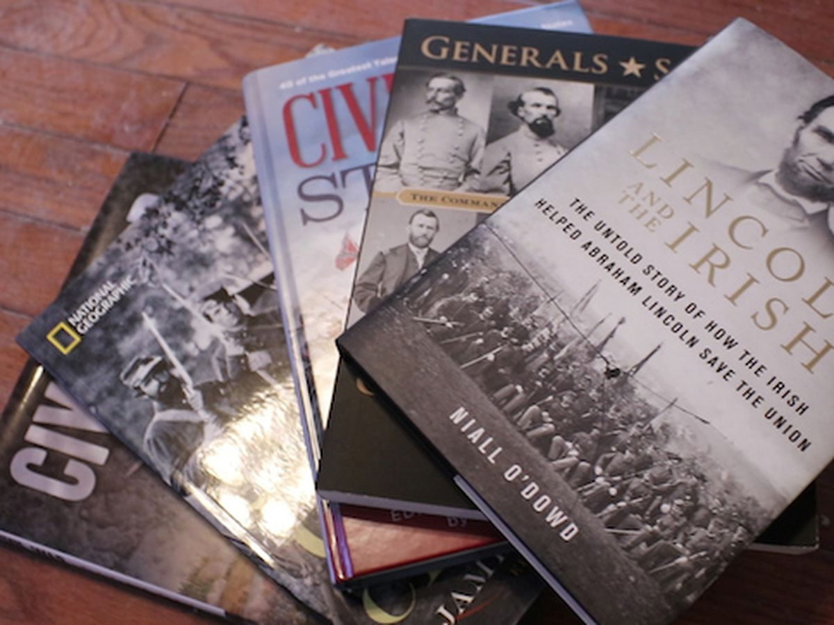Woman loses her 200 Civil War book collection to floodwaters; community steps in to help her rebuild it