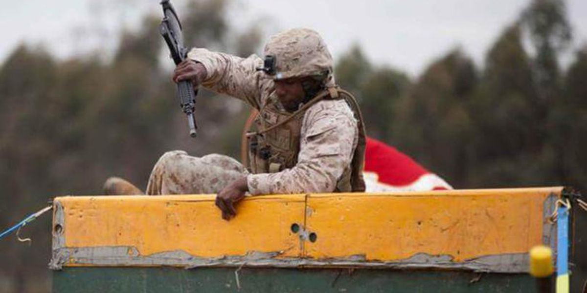 Marine charged with illegally flying guns from NC to Haiti