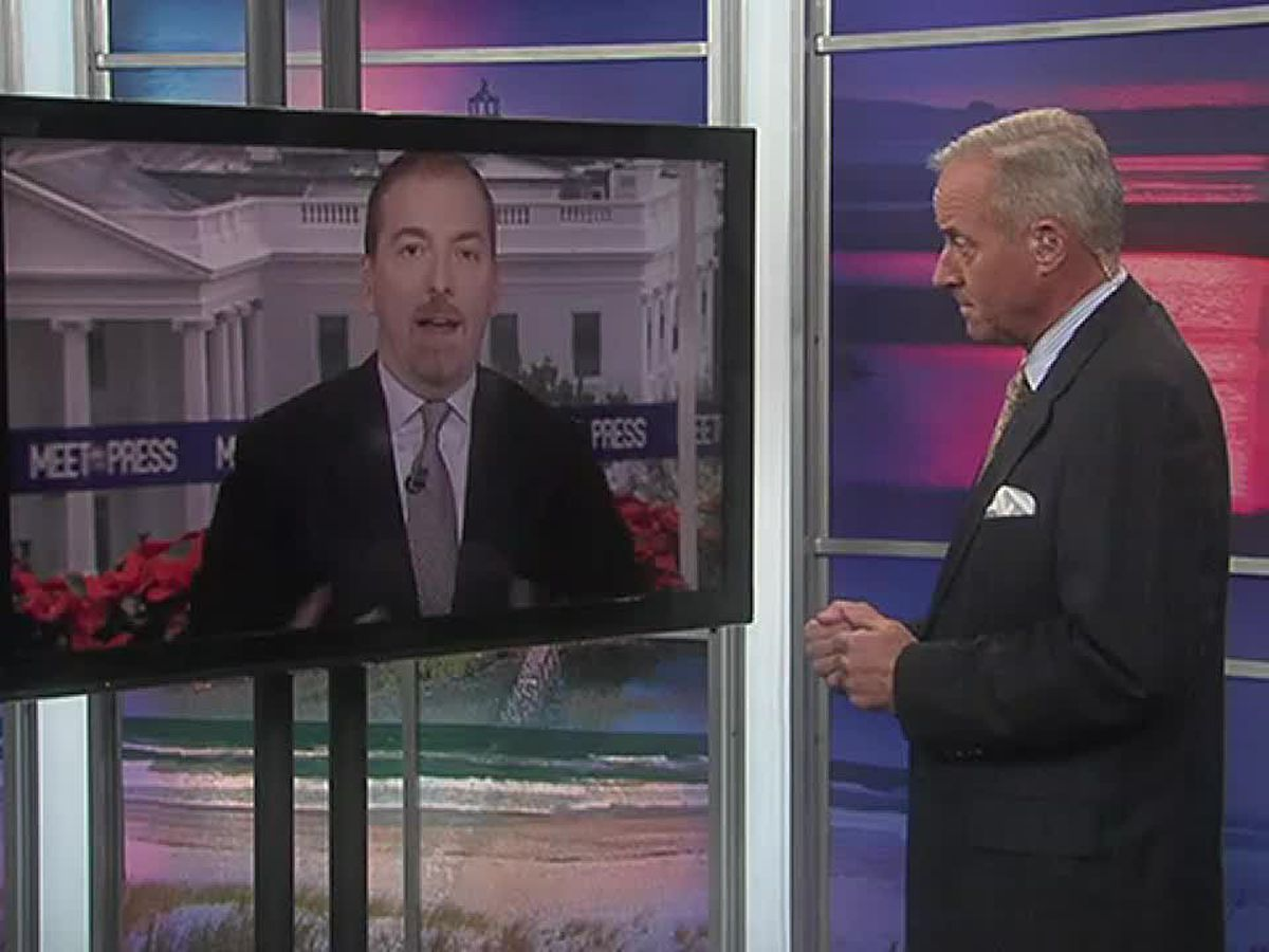 NBC's Chuck Todd expects new election in NC-9 because of fraud investigation