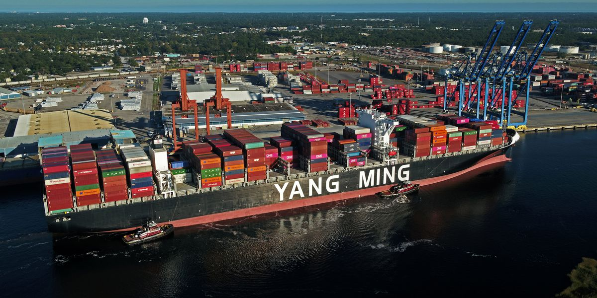 Port of Wilmington sets record, welcomes largest ship to date
