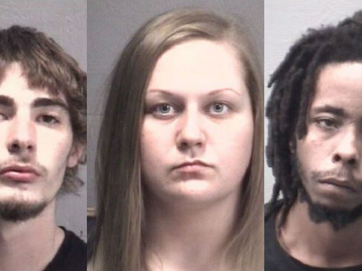 Four arrested in connection to armed robbery that resulted in shooting