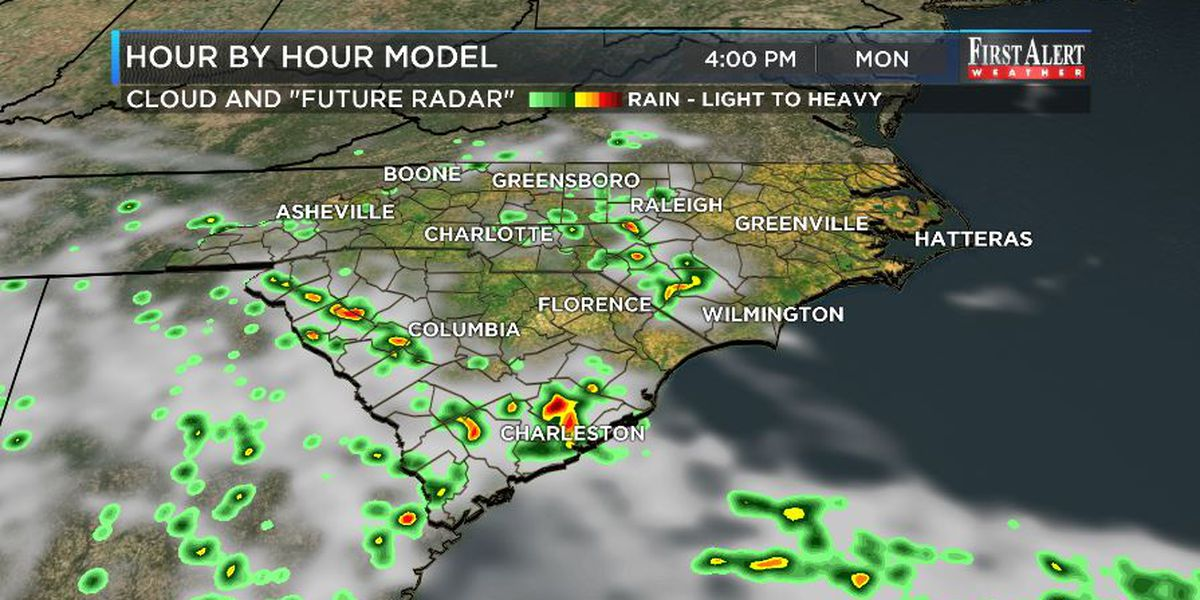 First Alert Forecast: modest rain chances as most of Cristobal stays west