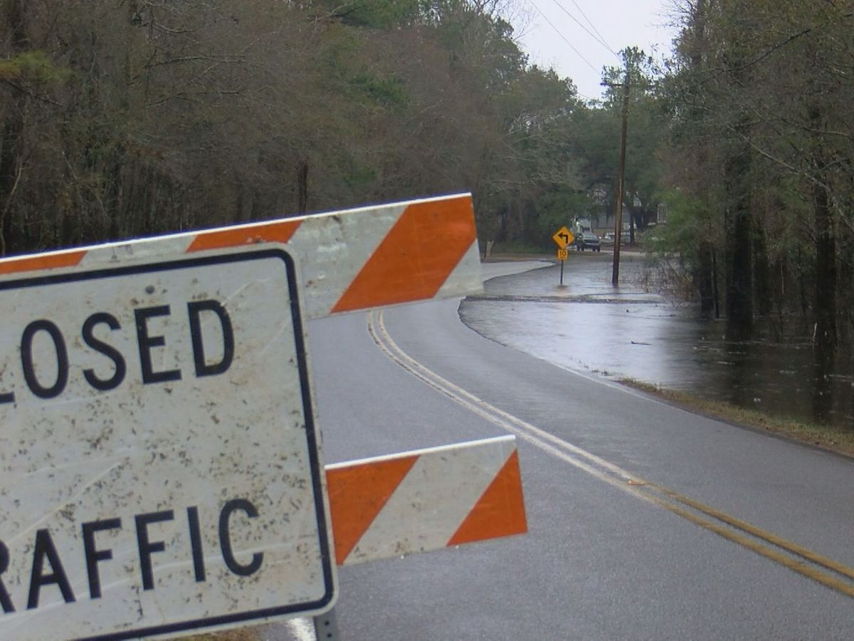 Some Pender County roads still flooded