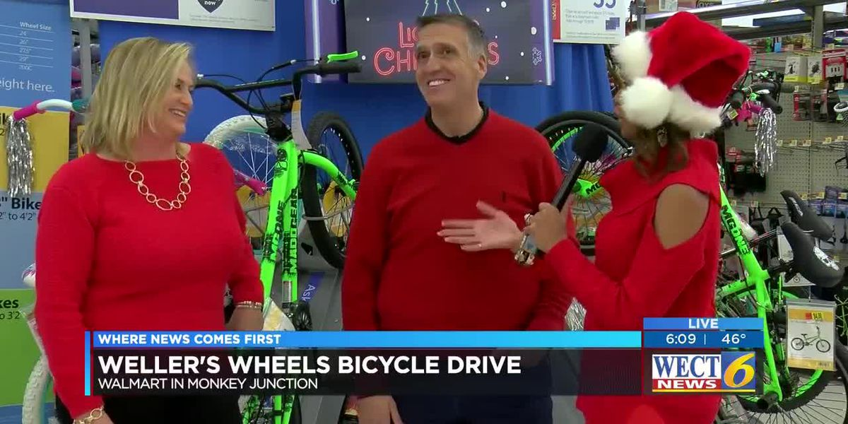 Couple buys $10,000 worth of bikes for Weller's Wheels