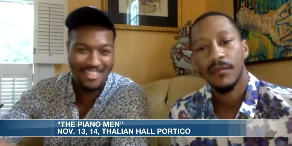 Music will be in the air thanks to 'The Piano Men'