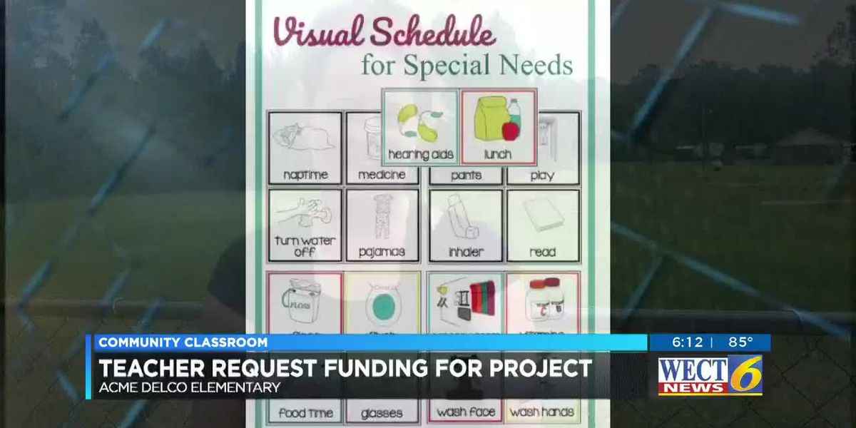 COMMUNITY CLASSROOM: Special needs teacher wants visual schedules, calendars for her students