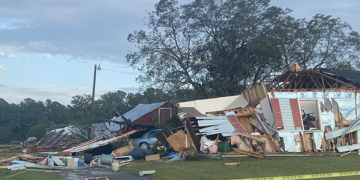 Multiple structures damaged by possible tornado in Conway area