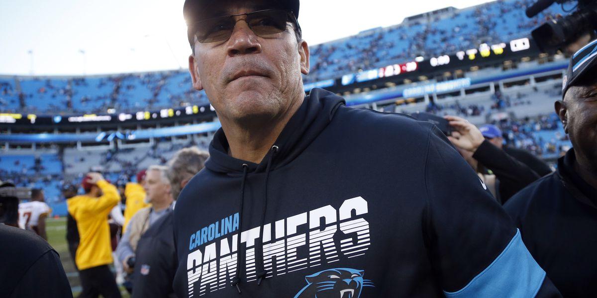 Carolina Panthers fire coach Ron Rivera