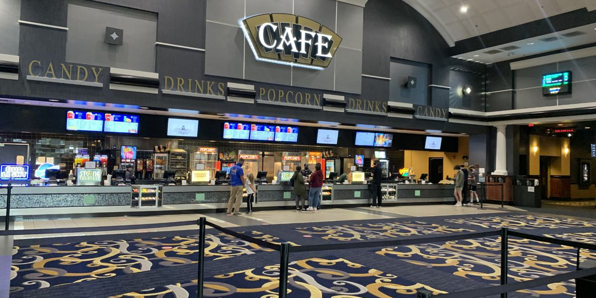 The Pointe 14 reopens to moviegoers for the first time in over a year