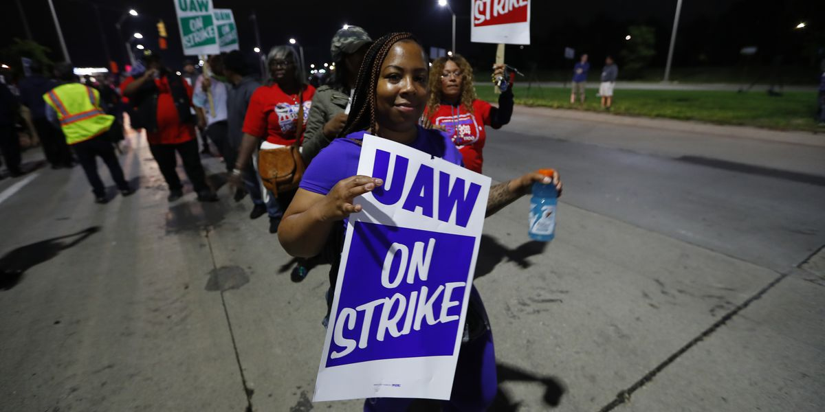 Slow progress reported in talks as GM strike enters 3rd day